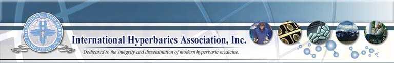 International Hyperbarics Association Logo